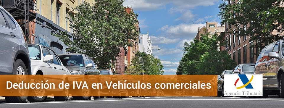 IVA en Vehículos comerciales