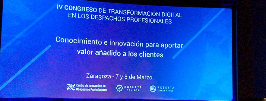 IV Congreso Transformación Digital en los Despachos Profesionales